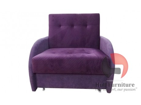 The couch / sofa TALA I with sleep function and a container for bedding,Dimensions: 104 cm / 80