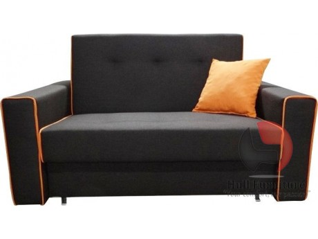 The couch / sofa TALA I with sleep function and a container for bedding,Dimensions: 196 cm / 95cm