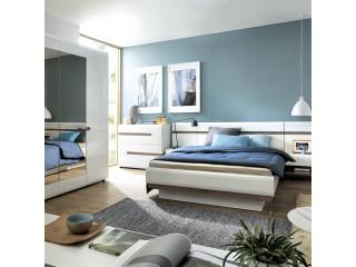 kongsize Bed - Abbie collection  160cm Size W 1655 x H 880 x D 2060 mm