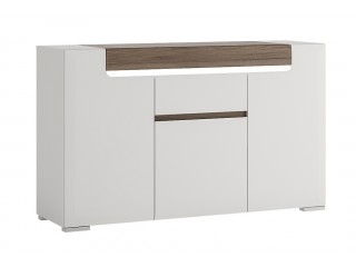 Toronto 3 Door 1 Drawer Sideboard Size W 1400 x H 845 x D 422 mm