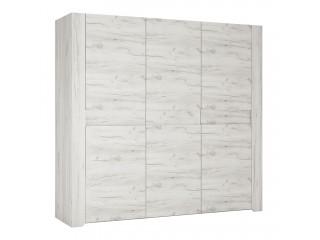 Angel 3 Door Wardrobe Size W 2207 x H 2075 x D 600 mm