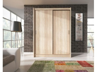 VICTORIA 150 cm - Oak sonoma - Sliding door wardrobe