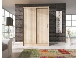 VICTORIA 130cm - Oak sonoma - Sliding door wardrobe