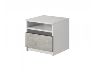 HEAVEN 23 - bedside table with one drawer and open space