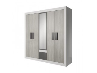 HEAVEN 231cm - 5 doors wardrobe with mirror