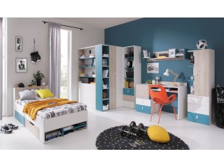Mercury  Single bed  Width: 94.0cm 	  Height : 77.0cm 	  Depth:  224.0cm