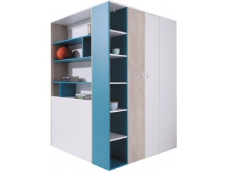 Mercury - Corner Wardrobe, walk in wardrobe, M1 R/L