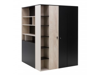 Mercury II - Corner Wardrobe, walk in wardrobe, M1 R/L