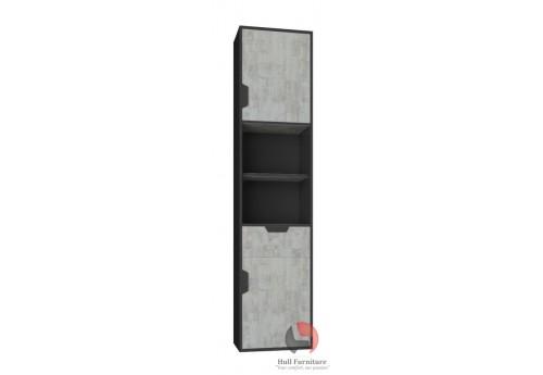 Jupiter II - 2 door, 1drawer unit ( J5) W:45.0cm H:195.0cm D:40.0cm