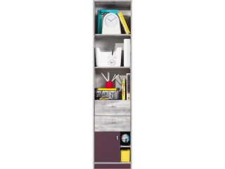 Zip, 1 Door, 2 Drawer Unit, 45x195x40cm  (Z6)