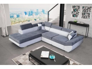 STAR - lovely, modern and big corner sofa bed