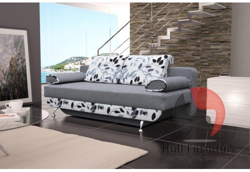 JULIE Sofa Bed 200 cm - wide range of different colours fabrics available