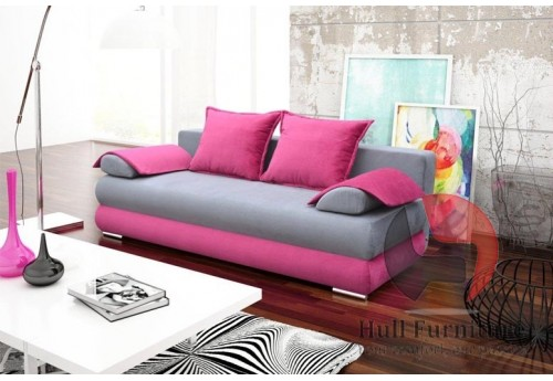 SARAH Sofa Bed 210 cm - wide range of different colours fabrics available