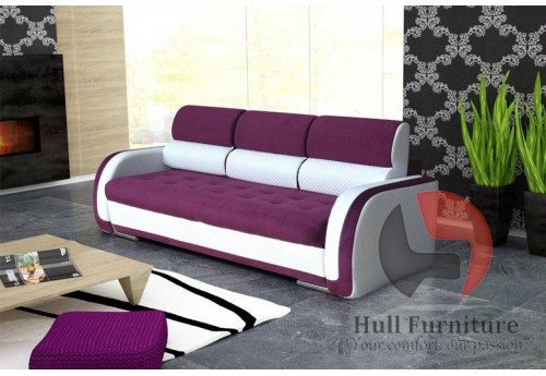 CARINA Sofa Bed 240 cm - wide range of different colours fabrics available