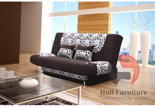 LEX Sofa Bed 200 cm - wide range of different colours fabrics available