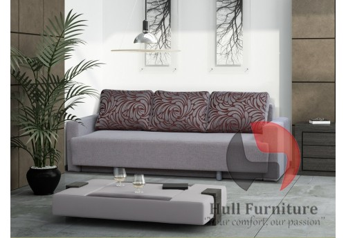 REX - Sofa Bed 225cm - wide range of different colours fabrics available