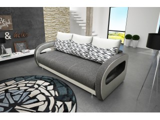 VICTOR Sofa Bed 230 cm - wide range of different colours fabrics available