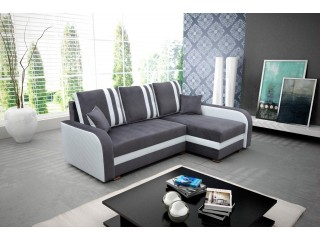 NATALIE 165X230cm - Corner Sofa with 2 Square Stools