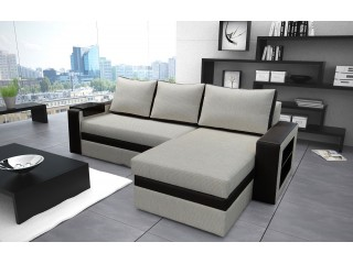 OLIA 155x240cm - Corner Sofa with Sleep Function