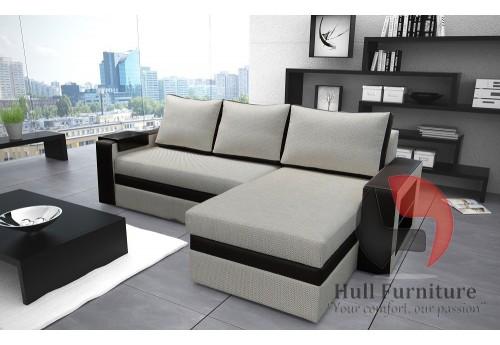 OLIA 155x240cm - Corner Sofa with Sleep Function