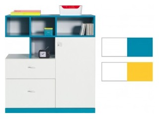 Mars - M9, 90/100cm, Yellow or Turquoise, Sideboard