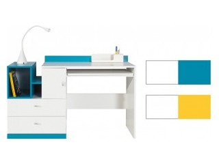 Mars - M11, 130/83cm, Yellow or Turquoise, Desk