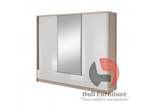 Sliding Door Wardrobe 250x214x62cm