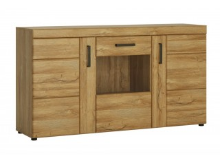 Cortina - Glazed sideboard. FREE UK DELIVERY. W 1568 x H 860 x D 409 mm