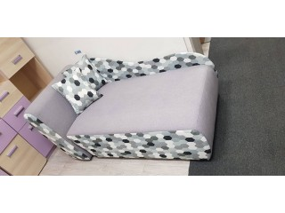 Tapczanik / sofa KUBUS z funkcja spania i pojemnikiem na posciel, Wymiar:150 / 80 cm