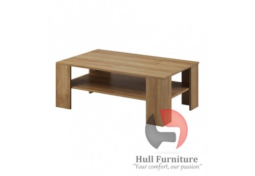 Moon Riviera Oak, 103/38/63cm, coffee table.