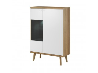 Prima - Display Cabinet - 90 / 134 / 40 cm