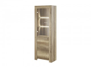 Moon Country Grey  - Display unit, 70/197/37cm