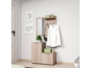 Monte - Hall way set - 80 / 180 / 34 cm, oak sonoma
