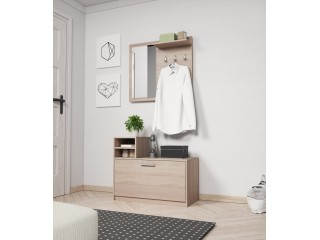 Lena - Hall way set - 80 / 180 / 26cm, oak sonoma