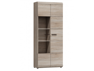 Linda - Tall Display Cabinet - 80 cm / 194 cm / 37 cm