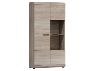 Linda - Low Display Cabinet - 80 cm / 158cm / 37 cm
