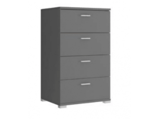 Chest of drawers 50 - Grey - 50x85x40cm