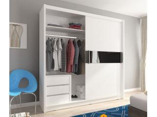 Universal Internal Drawers Unit For Wardrobe - White - 50x53x46cm