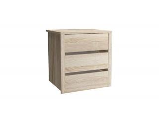 Universal Internal Drawers Unit For Wardrobe - Sonoma - 50x53x46cm