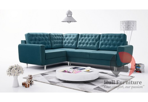 Ivy - Made to measure Corner Sofa Bed