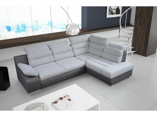 RIO - comfortable, family size corner sofa bed 270x190cm