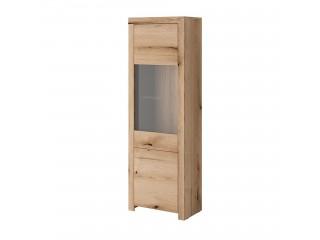 Evo - 2 Door Glazed Cabinet 63/ 194/ 39 cm