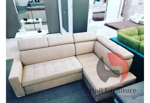 Corner sofabed KING Dimensions: 245cm / 160cm