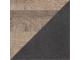Arlo - 4 Door 2 Drawer Mirrored Wardrobe, 220 cm x 202,4 cm x 54 cm, Oak + Grey
