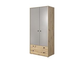 Cobe - Wardrobe 2D2D -  90 cm / 193.6 cm / 50.2cm