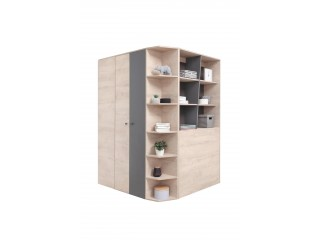 Dora - Walk-in wardrobe, 135 / 190 / 135 cm