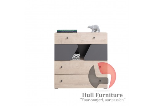 Dora - Chest of drawers, 90/ 95/ 40 cm