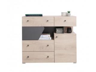 Dora - Chest of drawers, 110/ 95/ 40 cm