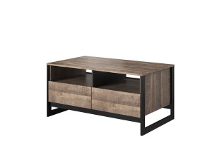Arlo - Coffee Table, Oak Sand Grande / Grey Concrete, 161 cm x 53 cm x 39.6 cm