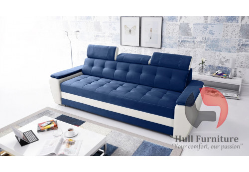 BOSS -  Bespoke, made to measure sofa with headrests to fit your room and lifestyle
